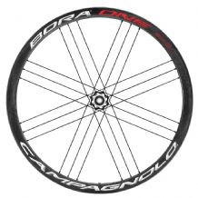 CAMPAGNOLO BORA ONE 35 BOLT THRU DISC BRAKE WHEELS - TUBULARS